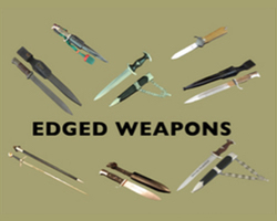 (D) Edged Weapons