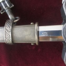 2nd model Luftwaffe Officers Dagger rig