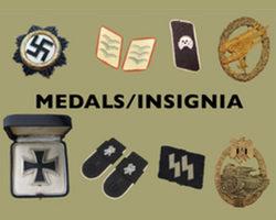 (E) Medals, Insignia