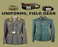 (C) Uniforms, Field Gear
