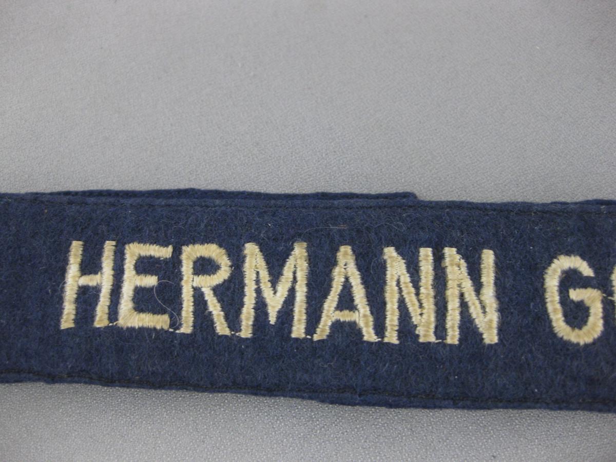 Hermann Goring Cuff title