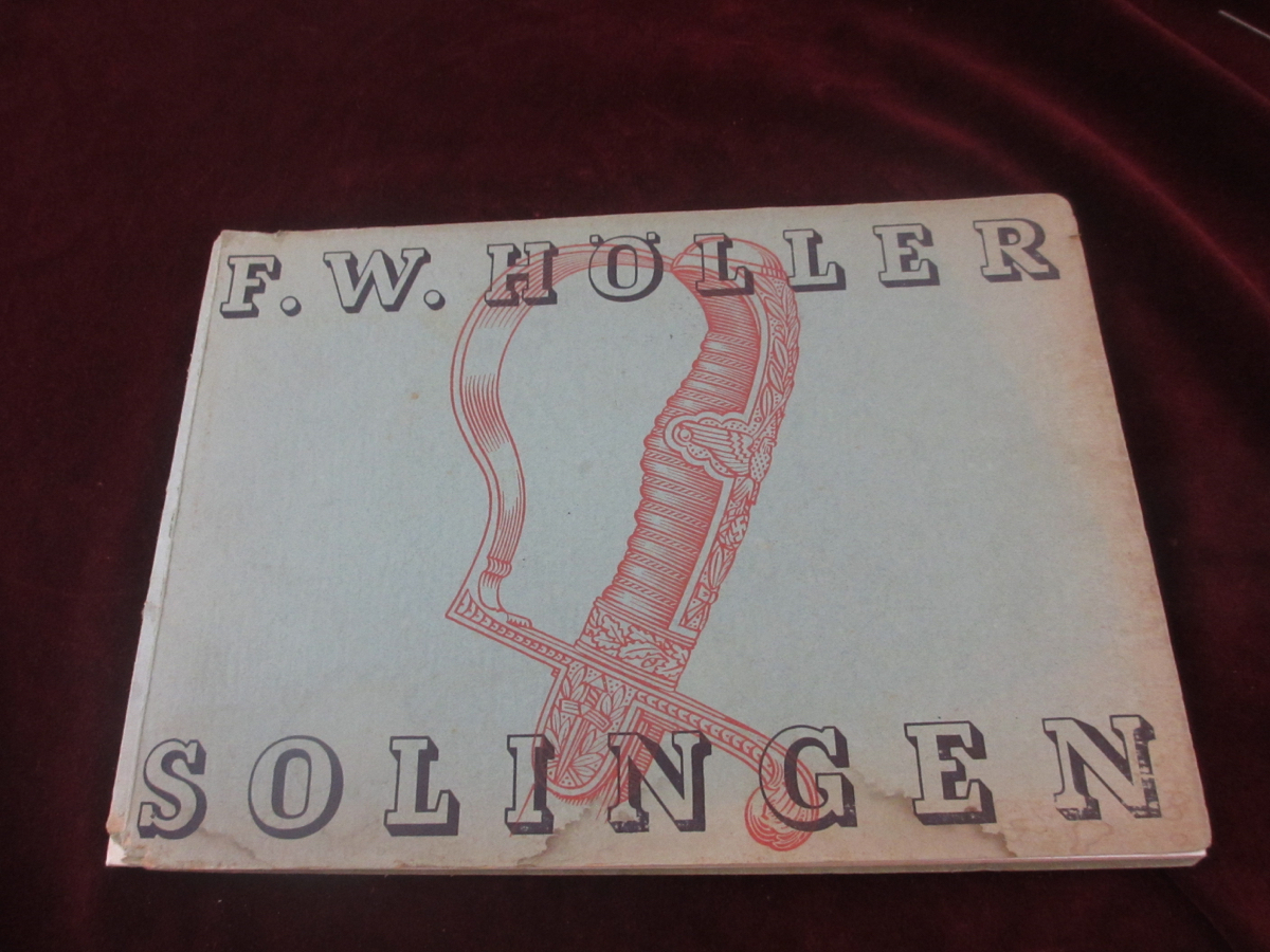 F.W. Holler sales catalog
