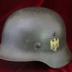 m35 helmet with reissue decal