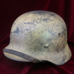 M40 single decal Luftwaffe camouflage helmet
