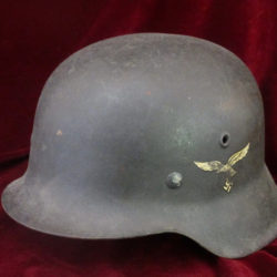 M42 single decal luftwaffe helmet