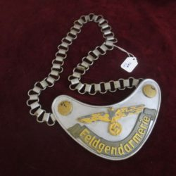 german field police gorget