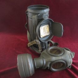 Complete Gas Mask and Container