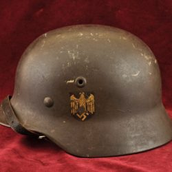 german kreigsmarine single decal helmet