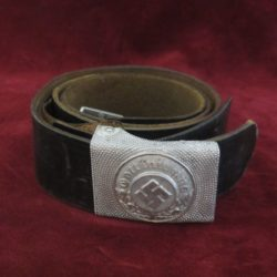 Police Belt and Buckle