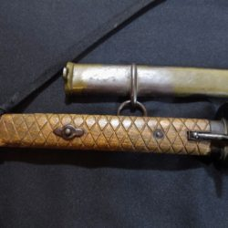 "Late War "" Pineapple"" NCO Samurai Sword/Knot"