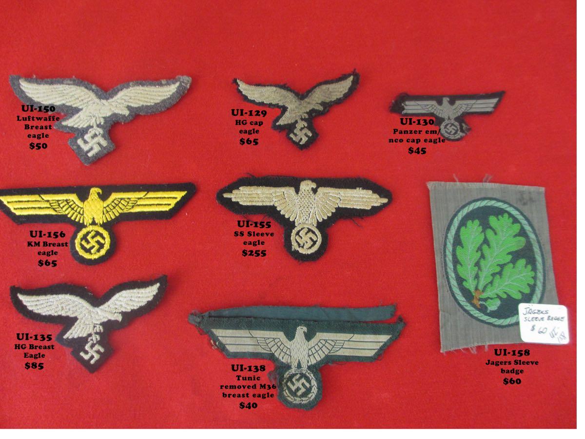 cloth insignia