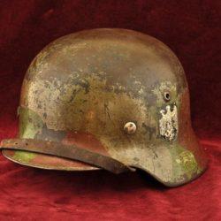 German Camouflage Helmet