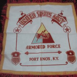 us armored forces pillow sham