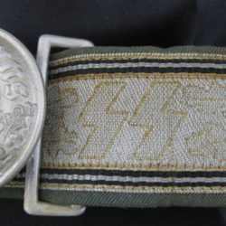 Police/SS Officers Dress belt and buckle