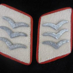 Luftwaffe Herman Goering DIvision collar tabs for artillery
