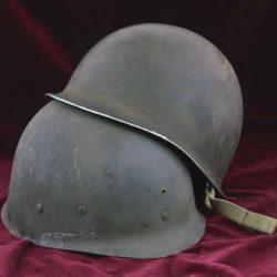 US M1 fixed bale combat helmet
