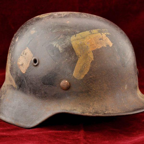 M40 Single decal luftwaffe gemometric camouflage helmet