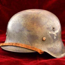 M42 SD Luftwaffe Camouflage Helmet