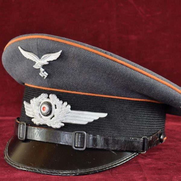 Luftwaffe Private Purchase Signals NCO Visor