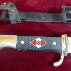 HItler Youth Knife with Motto