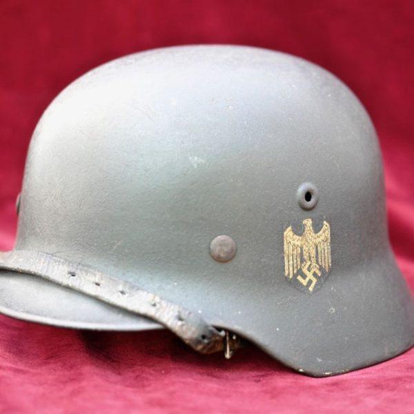 M40 single Decal Heer Helmet