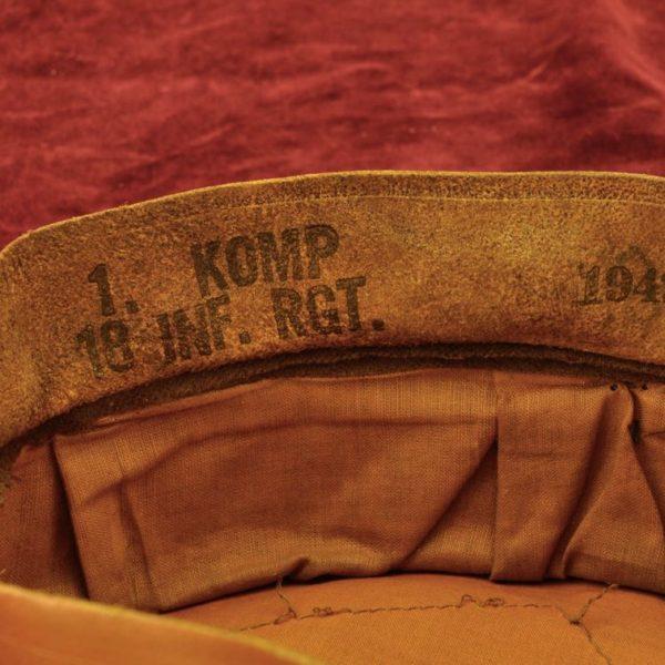 Heer Infantry EM/NCO'S Visor Hat