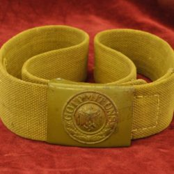 German DAK belt and buckle set