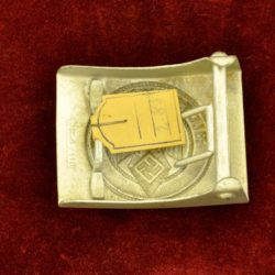 HJ Belt Buckle with tag