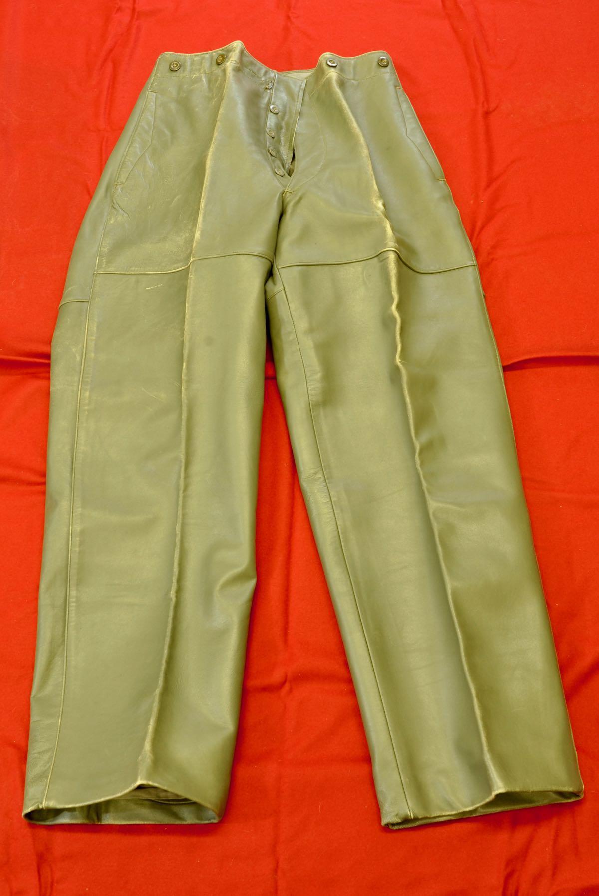 Kriegsmarine Foul Weather Leather Pants