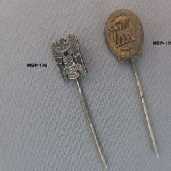 German stick pins
