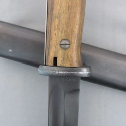 German K98 RFV Bayonet with matching numbers