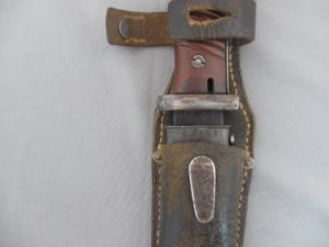 German K98 Combat Bayonet with matching numbers