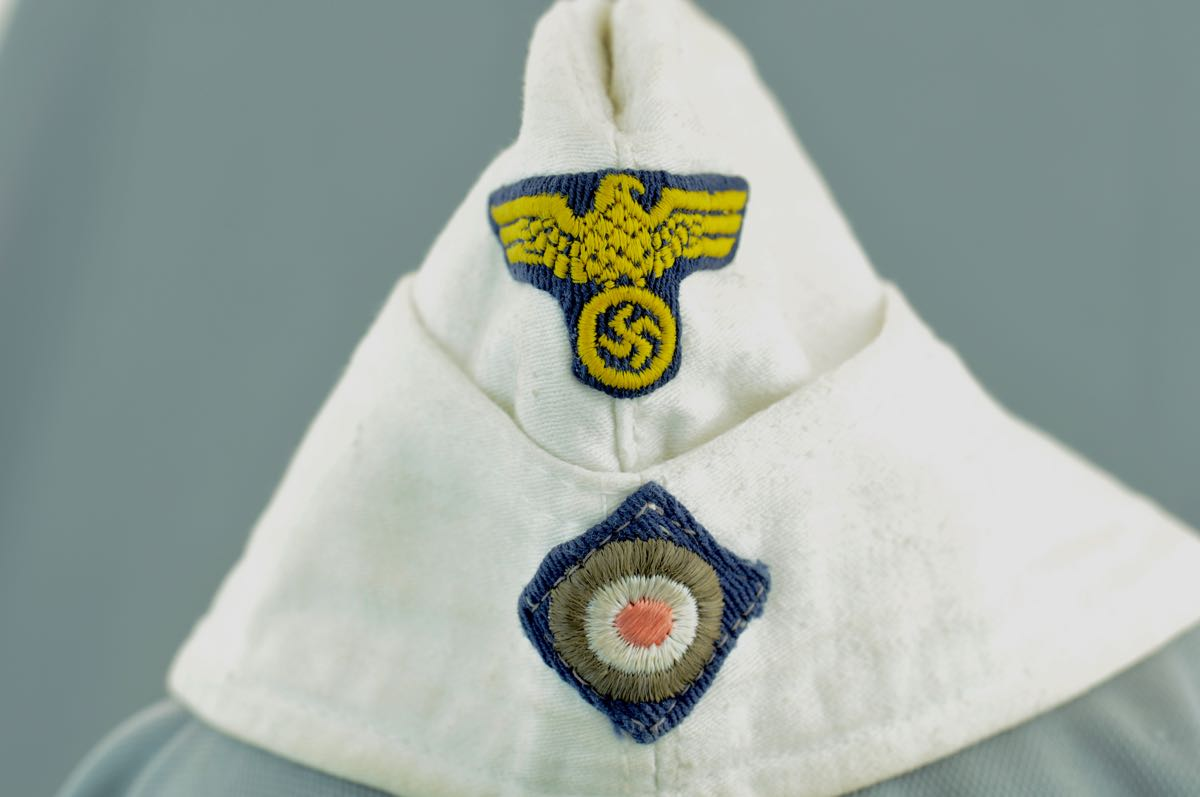 German Kriegsmarine Summer White Overseas Hat.