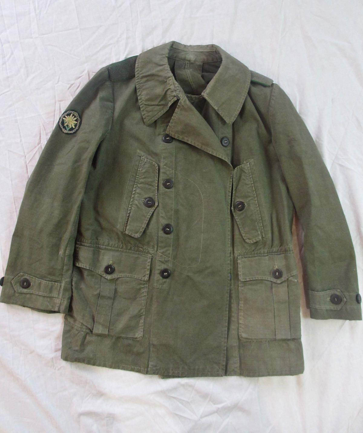 german_Mountain Troops Summer Jacket