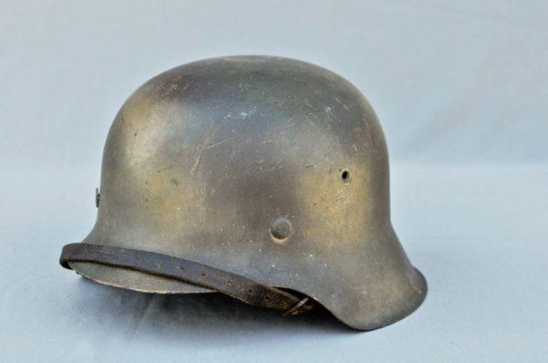 M42 3 color spray Camouflage Helmet