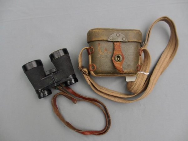 Japanese officers Field Binoculars and Case