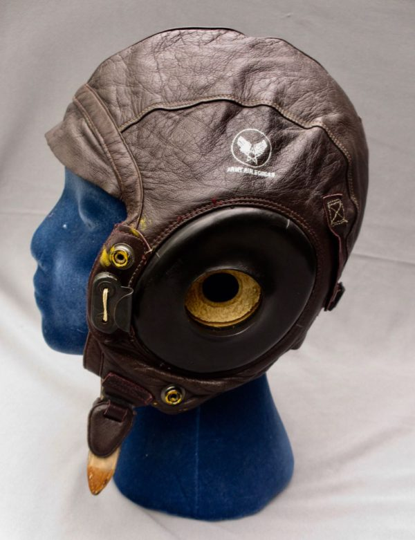 US A -11 Leather Flight Helmet