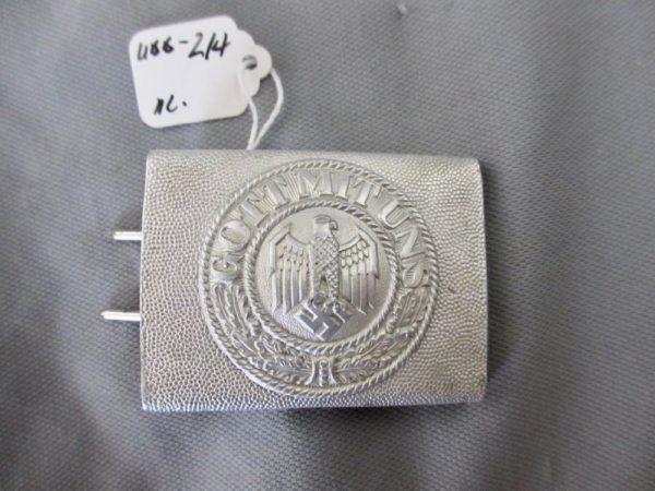 Heer aluminum belt buckle