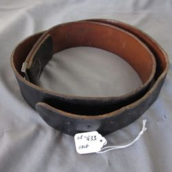 Heer black leather belt for NCO/EM.