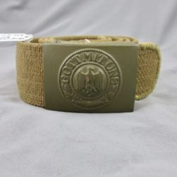 Heer DAK (tropical) painted buckle and web (canvas) belt
