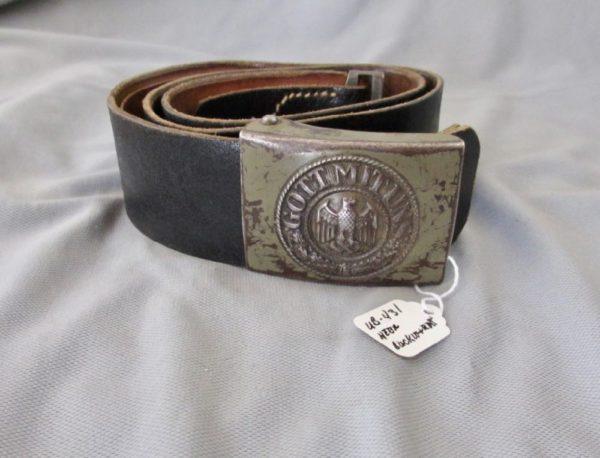 Heer NCO/EM Belt and buckle set.