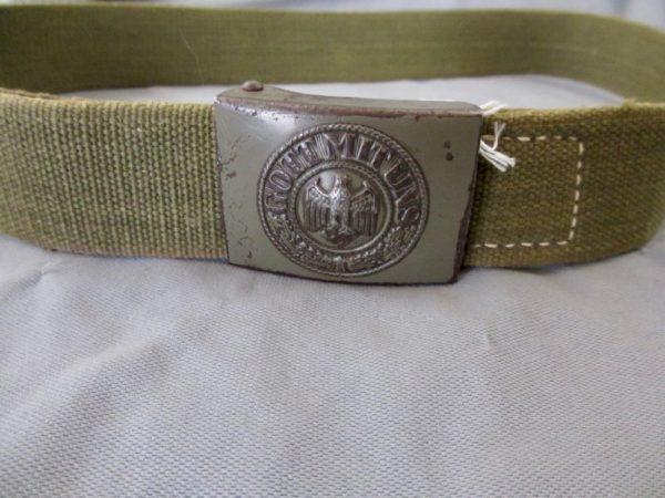 Heer DAK (tropical) belt and buckle set
