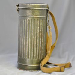 German gas mask and container