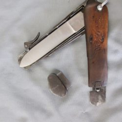 Luftwaffe Paratrooper take down gravity knife