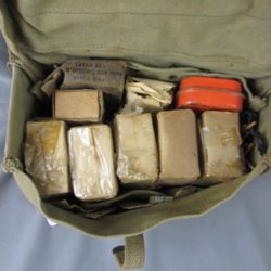 US Medics 1st aid pouch with full contents