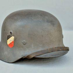 German Luftwaffe Helmet M35 double decal