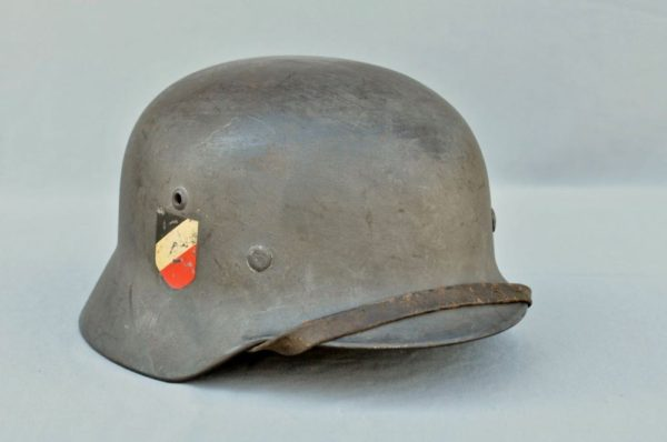 German Luftwaffe Helmet M35 double decal