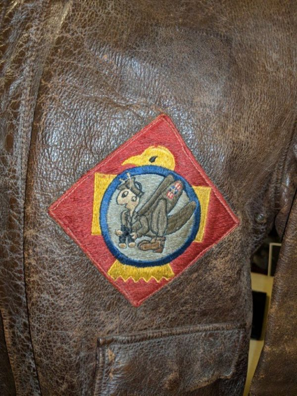 45th Infantry Division recon pilot A2 Jacket
