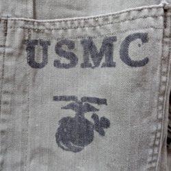 USMC P 41 hbt standard issue shirt