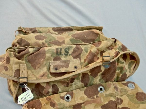USMC 1943 Camouflaged Jungle Back Pack